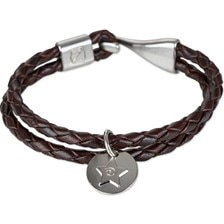 Noble Outfitters Braided Charm Bracelet