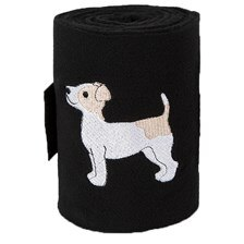 Lettia Embroidered Jack Russel Polo Wraps