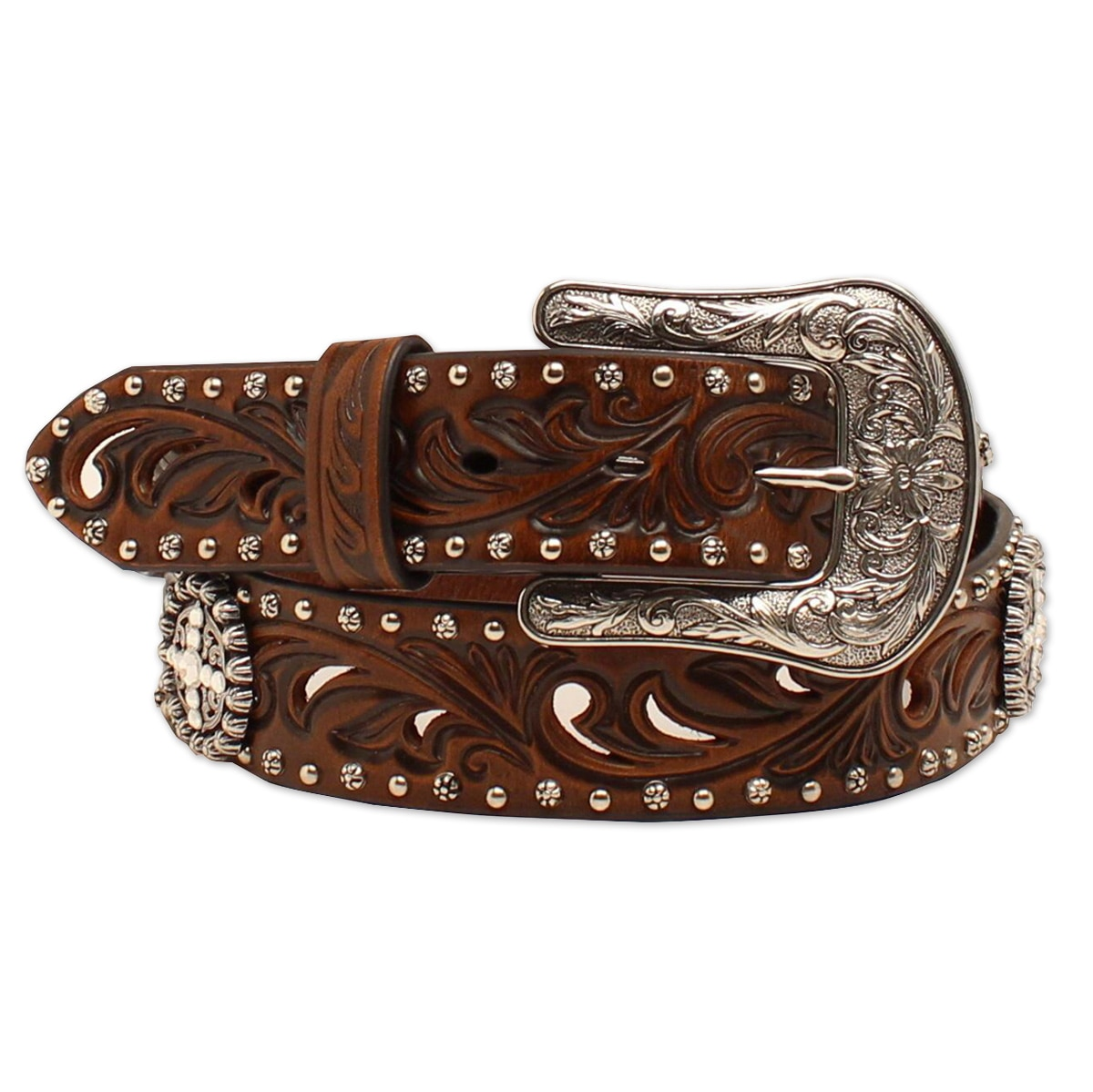 Ariat Women's Fillagree Circle Concho Belt