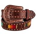 Ariat Women's Serape Copper Trim Belt