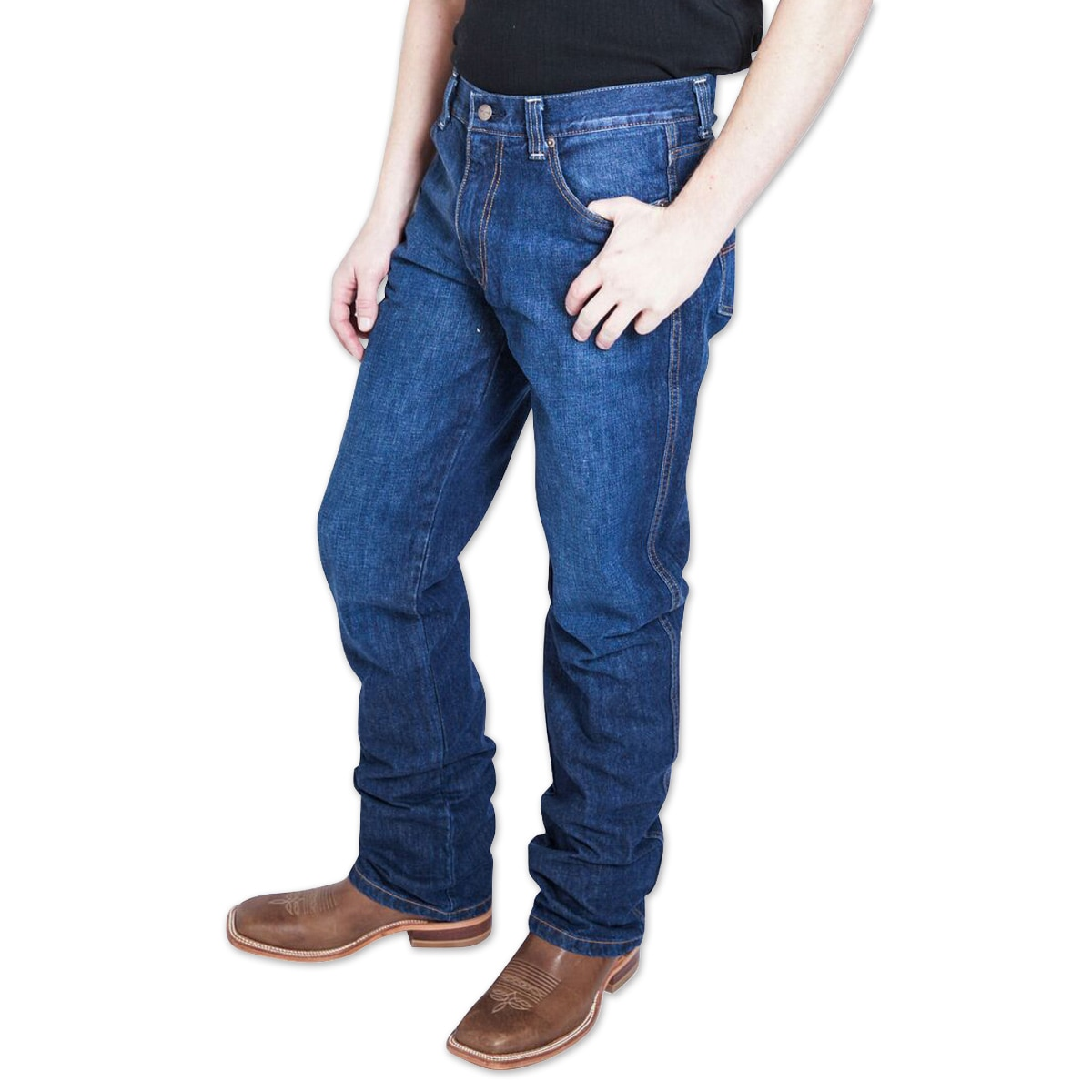 Kimes Ranch Mens Watson 2.0 Mid Rise Relaxed Boot Cut Jeans