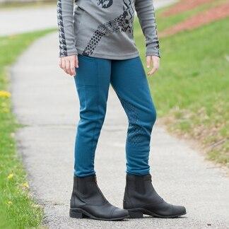 Kerrits Girls Powerstretch Pocket Knee Patch Tight