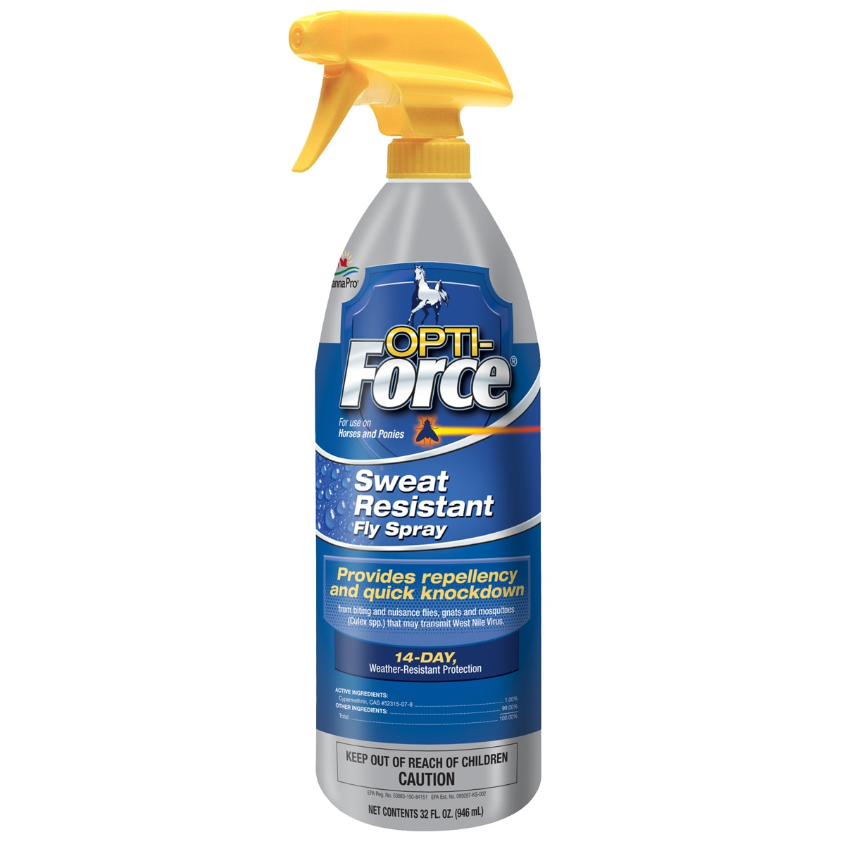 Opti-Force® Sweat Resistant Fly Spray