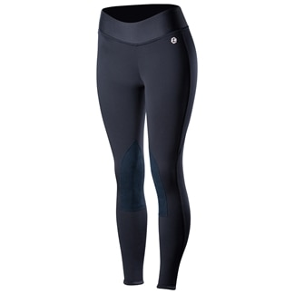 Horze Active Silicone Grip Winter Knee Patch Tight