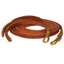 Perri's 7' Western Snap End Leather Split Reins