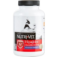 Nutri-Vet® Hip & Joint Advanced Strength Chewables for Dogs