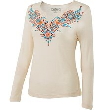 Noble Outfitters Free Spirit Henley - Clearance!