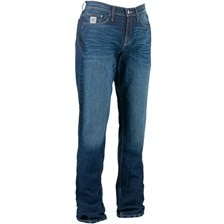 Cinch Men's Silver Label Mid Rise Slim Bootcut Jeans