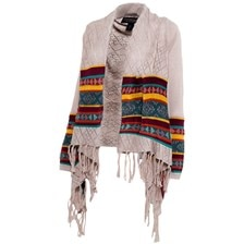 Noble Outfitters Frontier Fringe Cardigan