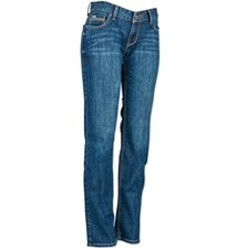 Cinch Women's Ada Mid Rise Relaxed Bootcut Jeans