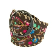 Noble Outfitter's Women's Frontier Floral Belt