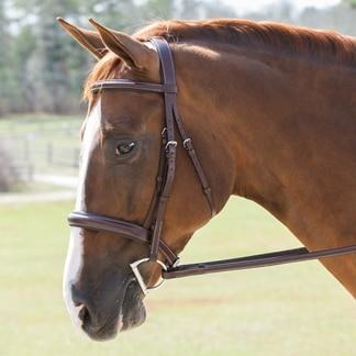 Harwich® Plain Wide Noseband Hunter Bridle by SmartPak