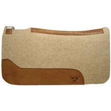 Contoured Cowboy Pad by Diamond Wool Pads