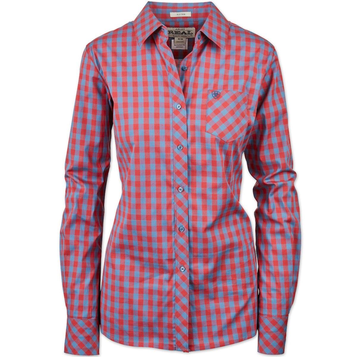 Ariat Women's R.E.A.L. Kirby Stretch Shirt Gingham