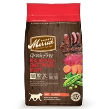 Merrick® Grain Free Real Buffalo + Sweet Potato Recipe Dry Dog Food