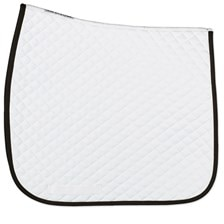 SmartPak Lite White Dressage Saddle Pad