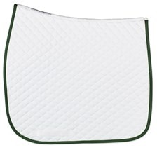 SmartPak Lite White Dressage Saddle Pad - Clearance!