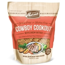 Merrick® Kitchen Bites® Grain Free Cowboy Cookout® Biscuit Dog Treats
