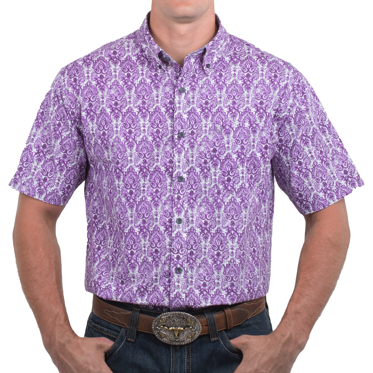 Noble Outfitters™Men's Generation Fit Solid Short Sleeve Shirt - CLOSEOUT!