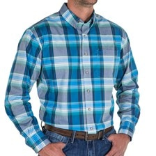 Noble Outfitters™Men's Generation Fit Plaid Long Sleeve Shirt- Clearance!