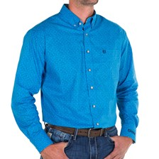 Noble Outfitters™ Men's Generation Fit Print Long Sleeve Shirt - Clearance!