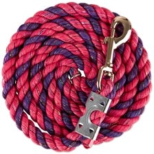 Glitter Cotton Lead with Snap End