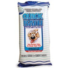 Quick Bath Dog Wipes