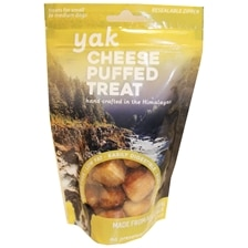 Yak Cheese Puffed Dog Treats