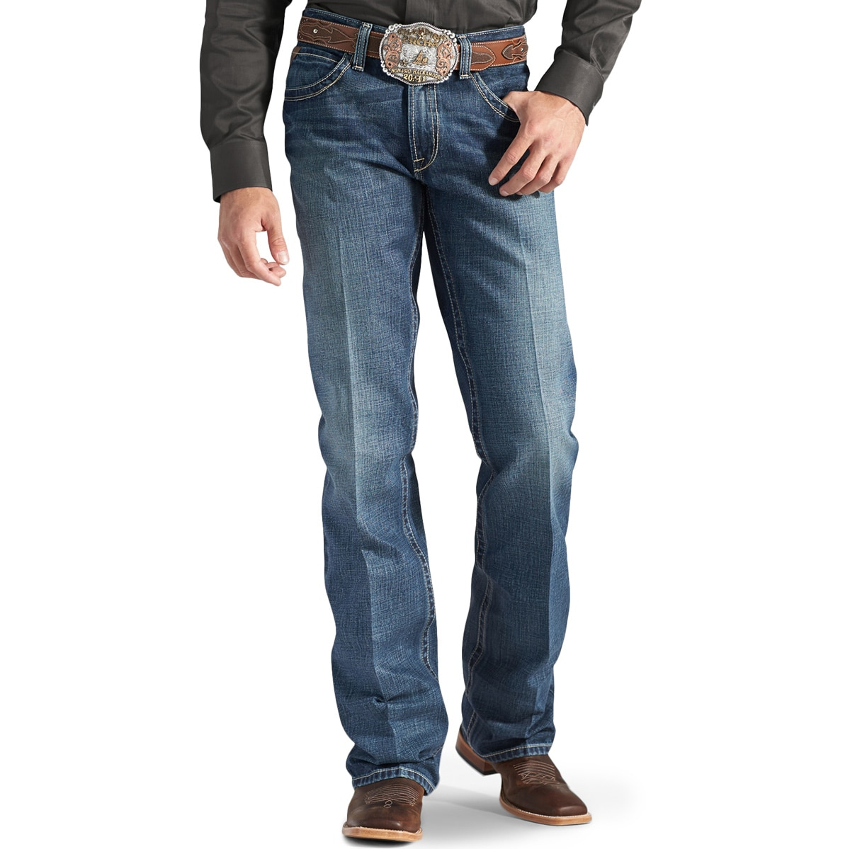 c3d5f54b901 Ariat® Men s M4 Low Rise Boot Cut Gulch Boundary Jeans