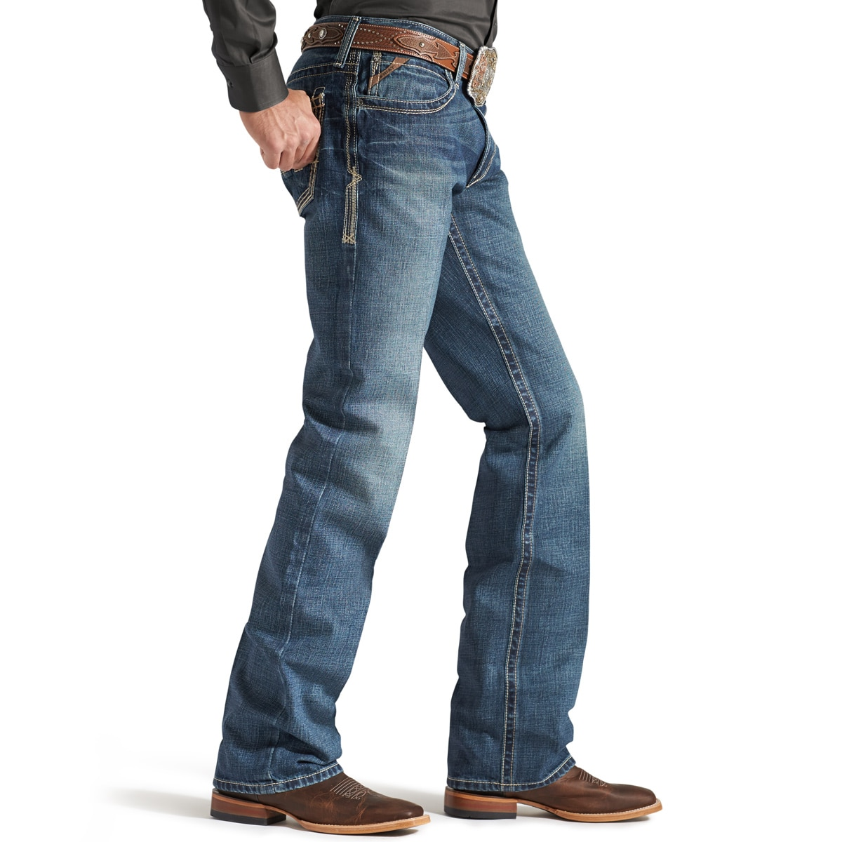 9117bd021762 Ariat® Men s M4 Low Rise Boot Cut Gulch Boundary Jeans