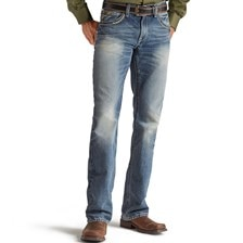 Ariat® Men's M5 Slim Straight Leg Gambler Ridgeline Jeans
