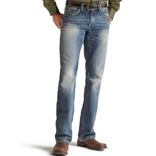 Ariat® Men's M5 Slim Straight Leg Gambler Ridgeline Jeans