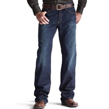 Ariat® Men's M4 Low Rise Boot Cut Roadhouse Legacy Jeans