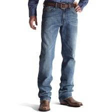 Ariat® Men's M2 Relaxed Boot Cut Granite Legacy Jeans