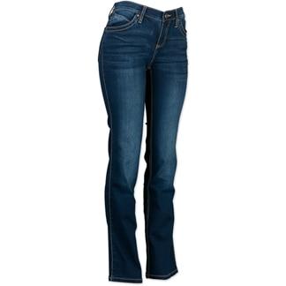 Wrangler® Women's Ultimate Riding Jeans Q-Baby- Dark Blue