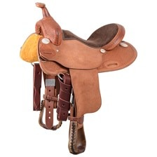 Cashel® Cowboy Youth Saddle - Barrel Racer