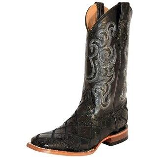 Ferrini Men's Gator/Ostrich Patchwork Boots