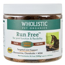 Wholistic Run Free™ Soft Chews Large Breed