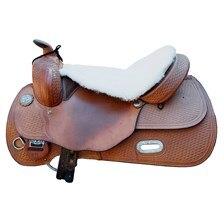 Equine Comfort Sheepskin Western Seat Saver