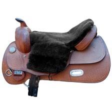 Equine Comfort Deluxe Sheepskin Western Seat Saver