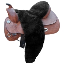 Equine Comfort Full Size Sheepskin Western Seat Cover