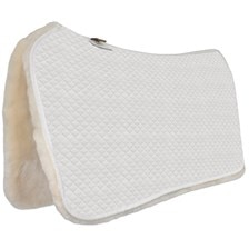 Equine Comfort Sheepskin Western High Performance Saddle Pad