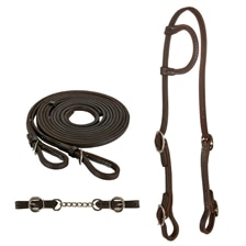 SmartPak Western Tack Bundle - Save 10%! - Dark Oil