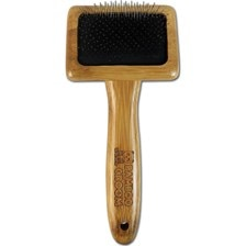 Bamboo Groom Slicker Dog Brush
