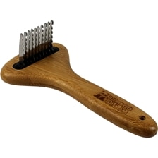 Bamboo Groom Dematting Dog Rake
