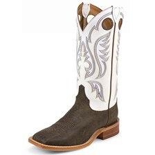 Justin Men's Austin Boots - Classic White