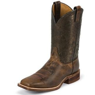 Justin Men's Austin Boots - Cobre Metallic