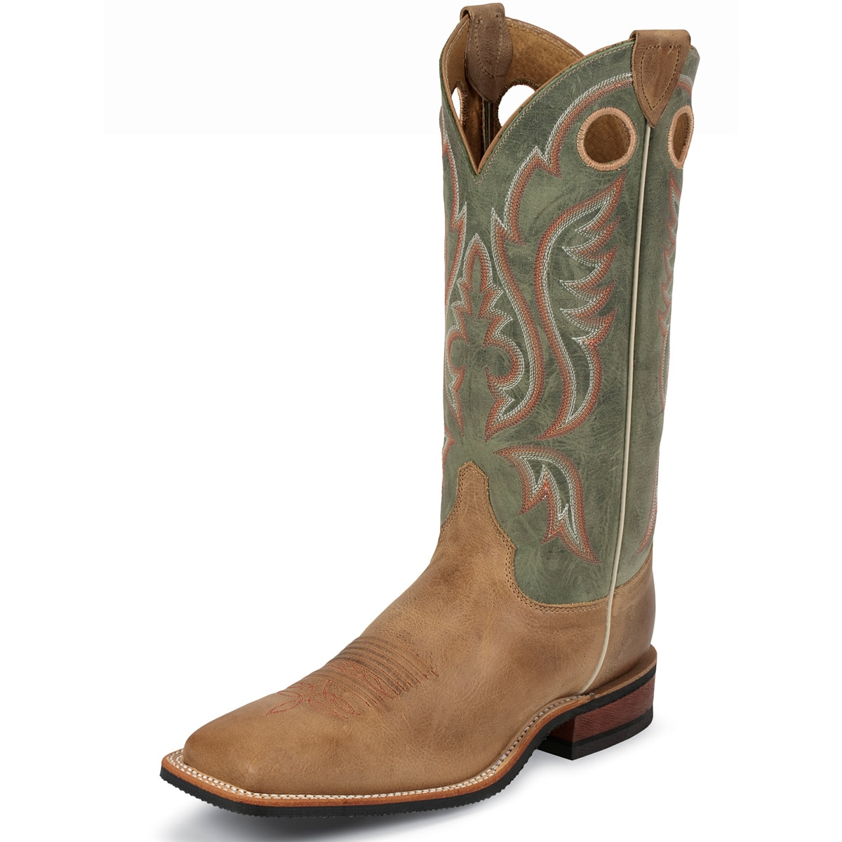 Justin Men's Jacksboro Boots - Sage Cowhide