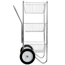 Three-Tier Basket Cart