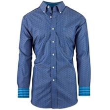 Ariat Men's Kacey Wrinkle Free Classic Fit Print Shirt